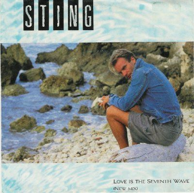 Sting Love Is The Seveventh Wave album cover