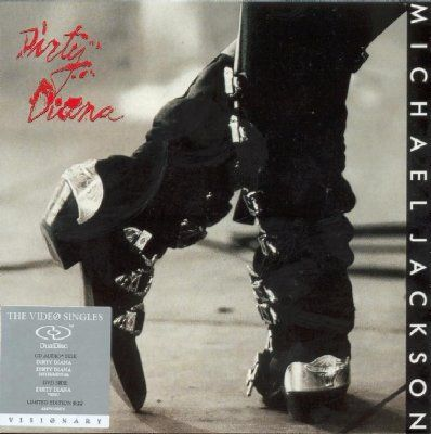 Michael Jackson Dirty Diana album cover