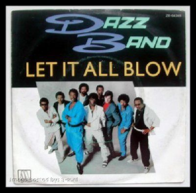 Dazz Band Let It All Blow album cover