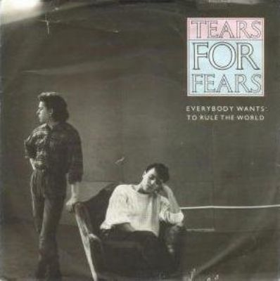 Tears For Fears Everybody Wants To Rule The World album cover