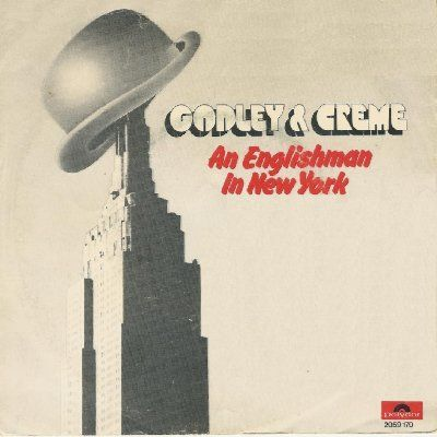 Godley & Creme An Englishman In New York album cover