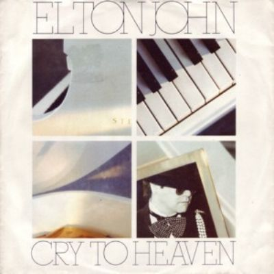 Elton John Cry To Heaven album cover