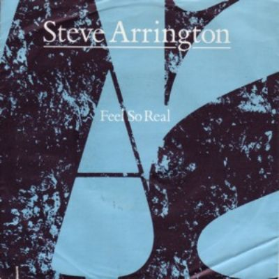 Steve Arrington Feel So Real album cover