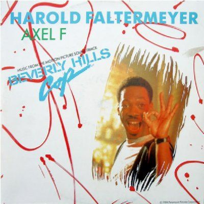 Harold Faltermeyer Axel F album cover