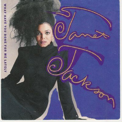 Janet Jackson What Have You Done For Me Lately album cover