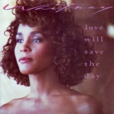 Whitney Houston Love Will Save The Day album cover