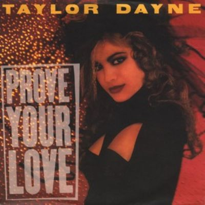 Taylor Dayne Prove Your Love album cover
