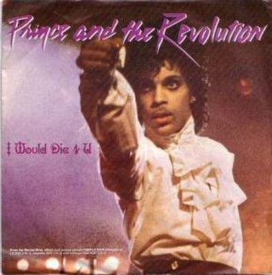 Prince & The Revolution I Would Die 4 U album cover
