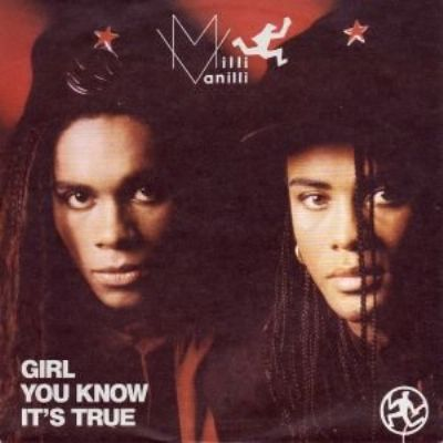 Milli Vanilli Girl You Know It's True album cover