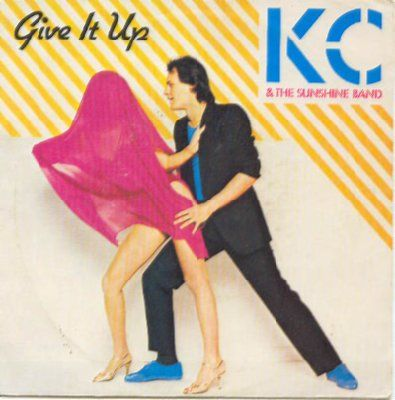 KC & The Sunshine Band Give It Up album cover