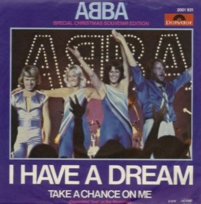 Abba I Have A Dream album cover