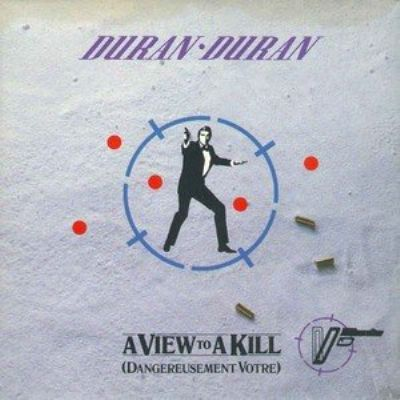 Duran Duran A View To A Kill album cover