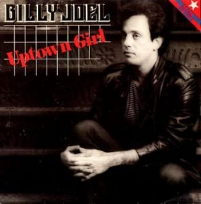 Billy Joel Uptown Girl album cover