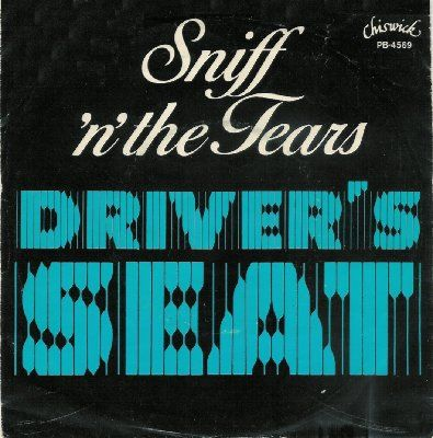 Sniff & The Tears Driver's Seat album cover