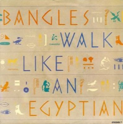 Bangles Walk Like An Egyptian album cover