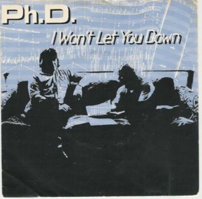 PHD I Won't Let You Down album cover