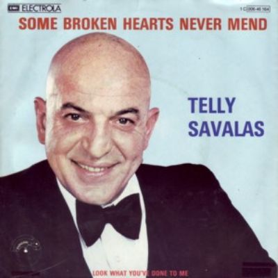 Telly Savalas Some Broken Hearts Never Mend album cover