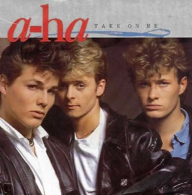 A-Ha Take On Me album cover