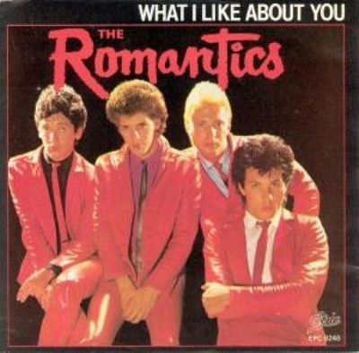 Romantics What I Like About You album cover